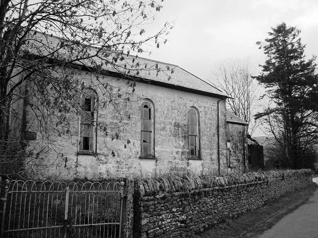 : The chapel from the lane